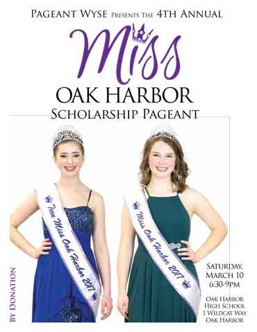 Miss Oak Harbor Scholarship Pageant 2018